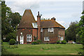 TQ5512 : Oast House at Pekes, Nash Street, Golden Cross, East Sussex by Oast House Archive