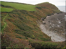 SX1396 : Coast path above Tremoutha Haven by Philip Halling