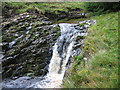 NT8811 : Waterfall, Usway Burn by Les Hull