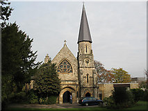 TQ2274 : St Margaret's church, Putney: south end by Stephen Craven