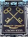 ST7461 : Sign for the Cross Keys by Maigheach-gheal