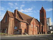 SJ3588 : St. Gabriel's Church by Sue Adair