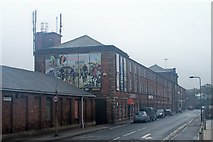 SK4293 : Fosters Cycles (in the former Yates, Haywood & Co premises), Thames Street, Rotherham by Terry Robinson