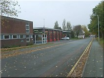SO9098 : Wolverhampton Fire Station by Gordon Griffiths