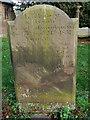 SJ5055 : Gravestone, All Saints Harthill by Eirian Evans