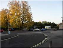 SP2806 : Somerfield car park, Carterton by andrew auger