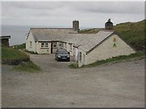 SX0488 : Tintagel Youth Hostel by Philip Halling