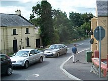 O1370 : The Duleek Road at its junction with the N1 (Dublin Road) by Eric Jones