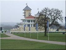 SP7047 : Towcester Racecourse Grandstand by Oliver Hunter