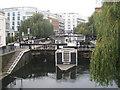 TQ2884 : Hampstead Road Lock N° 1, Camden Lock by Oast House Archive