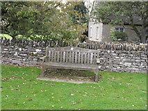 SP2504 : Kencot Golden Jubilee seat by andrew auger