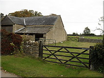 SP2504 : Farm buildings in Kencot by andrew auger