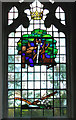 TM1085 : St Mary's church - C20 memorial window by Evelyn Simak