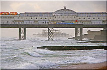 TQ3103 : Two Piers - Brighton by Christine Matthews