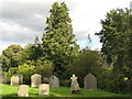 NZ0461 : Bywell St. Andrew - churchyard (3) by Mike Quinn