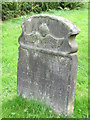 NZ0461 : Bywell St. Andrew - gravestone by Mike Quinn