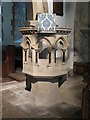 NZ0461 : Bywell St. Andrew - pulpit by Mike Quinn