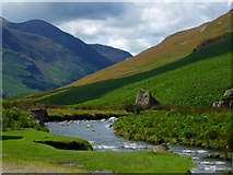 NY2014 : Gatesgarthdale Beck in the Honister Pass by Keith Laverack