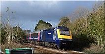 SX5857 : Train near Venton by Derek Harper