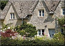 SP1106 : A Riverside Cottage, Bibury by Cameraman