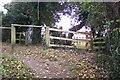 TQ4762 : Footpath junction near Pratt's Bottom by David Anstiss