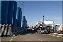 NJ9505 : Road to Pocra Quay, Aberdeen by Bill Harrison