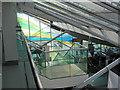SU4416 : Terminal interior, Southampton International Airport by Peter Facey