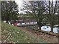 TF4617 : Tydd Gote Pumping Station by Tony Bennett
