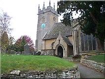 SP1729 : St James' church, Longborough by Michael Dibb