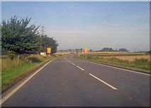 SK4965 : A617 Chesterfield Road east of Glapwell by Trevor Rickard