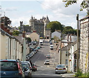 J5252 : Frederick Street and castle, Killyleagh by David Hawgood