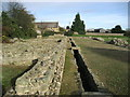 NZ2115 : Part of the Roman Fort at Piercebridge by Chris Heaton