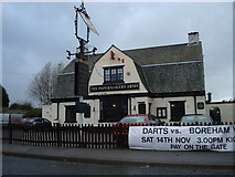 TQ5571 : The Papermakers Arms public house, Hawley by Stacey Harris