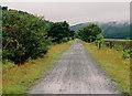 SH6818 : Old railway trackbed near Penmaenpool by Nigel Brown