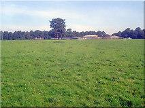 SK4763 : Hardwick Park Farm - 1 by Trevor Rickard