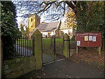 TA0816 : Parish Church of St. Andrew, Wootton by David Wright