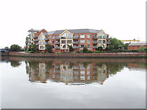 J3474 : Apartments by Queen's Bridge, Belfast by David Hawgood