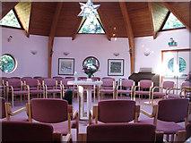 TG2103 : Mangreen Health & Healing Trust - the Light Centre (interior) by Evelyn Simak
