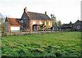TG2102 : Mangreen Hall Farm (farmhouse) by Evelyn Simak