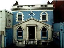 TQ2775 : Nazarene Church on Battersea Rise by tristan forward