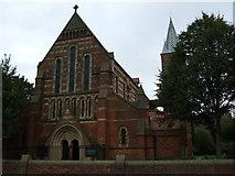 SJ8993 : St Elisabeth's Church, Reddish by S Parish
