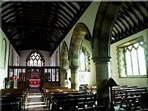 TQ1328 : Itchingfield Church interior by tristan forward