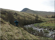 NN6914 : Water of Ruchill towards Am Beinnan, Glen Artney, Perthshire by Anthony O'Neil