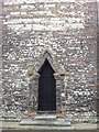 TL9925 : Doorway in tower of Holy Trinity Church Colchester by PAUL FARMER