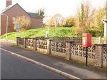 SY9287 : Wareham: postbox № BH20 214, Bestwall Road by Chris Downer