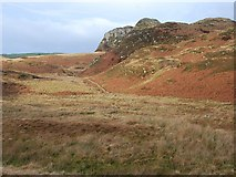 NM8503 : Moorland south of Dun Chonallaich by Patrick Mackie