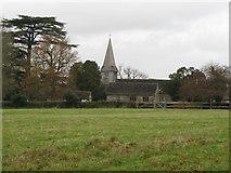 TQ1328 : St Nicholas Church Itchingfield by Dave Spicer