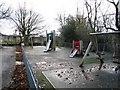 NZ0416 : Children's playground in Barnard Castle by Philip Barker