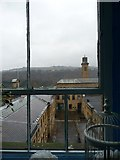 SE1338 : View from the third floor of Salt's Mill by Christine Johnstone