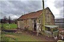 NZ5906 : Farm Outbuilding, Bank Foot Farm by Paul Buckingham